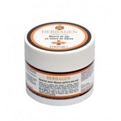 masque capillaire au miel bio et huile de macadamia