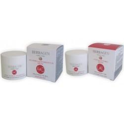 Herbagen duo crèmes de soins nuit et jour à la bave d'escargot anti-âge anti-rides intensif