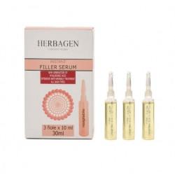 Herbagen sérum de remplissage instantané avec microsphères d'acide hyaluronique