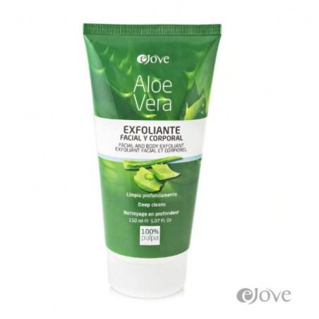 Gommage visage & corps en gel, pulpe d'Aloe Vera
