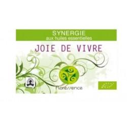 Synergie huiles essentielles joie de vivre lutte contre la dépression 100% pure, naturelle, et bio