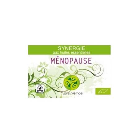 Synergie huiles essentielles ménopause soulage l'inconfort
