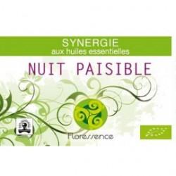 Synergie huiles essentielles nuit paisible lutte contre l'insomnie 100% pure, naturelle et bio