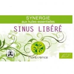 Synergie huiles essentielles libère les sinus encombrés 100% pure, naturelle, et bio