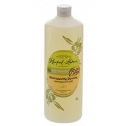 Shampoing cheveux et douche bio sauge et bergamote pour toute la famille 1 litre
