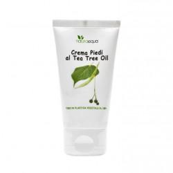 Crème pour les pieds à l'arbre à thé et ingrédients naturels bio 50 ml
