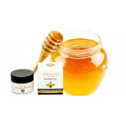 crème de nuit à base de miel bio