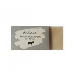 Dusahel savon visage et corps au lait d'ânesse bio 100 gr