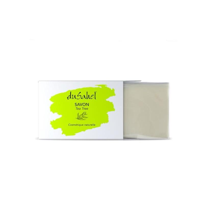 Savon nourrissant à l'huile essentielle d'arbre à thé pour les peaux mixtes, grasses à problèmes.