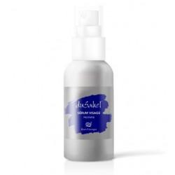 Dusahel sérum visage et après rasage à la bave d'escargot, extraits de ginseng et ingrédients naturels pour homme 50 ml
