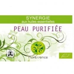 Synergie huiles essentielles peau purifiée soulage la crise d'eczéma 100% pure, naturelle et bio