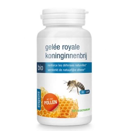 Gelée royale et pollen bio tonus, vitalité et immunité