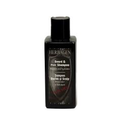 shampoing barbe et cuir chevelu, hydratant et réparateur pour homme