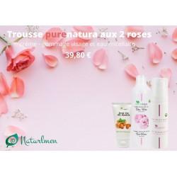 Coffret cadeau Purenatura aux deux roses